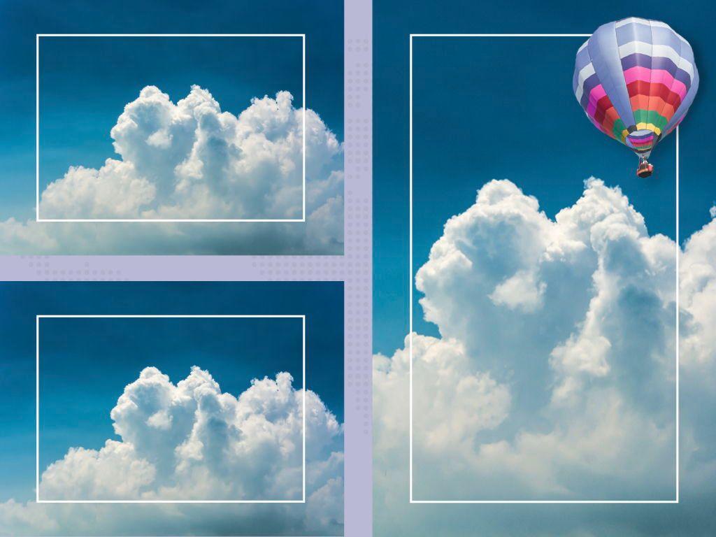 Hot Air Keynote Theme, Slide 27, 05070, Presentation Templates — PoweredTemplate.com