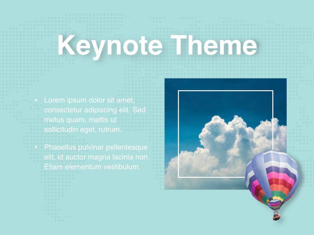 Hot Air Keynote Theme, Slide 30, 05070, Presentation Templates — PoweredTemplate.com