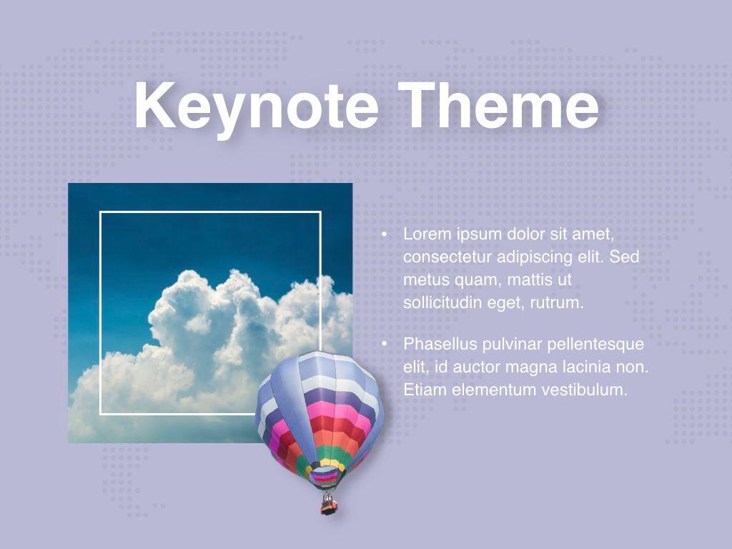Hot Air Keynote Theme, Slide 31, 05070, Presentation Templates — PoweredTemplate.com