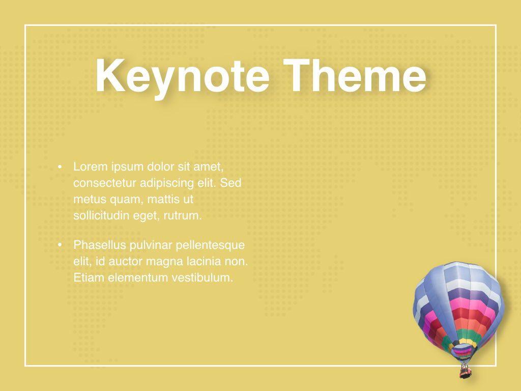 Hot Air Keynote Theme, Slide 32, 05070, Presentation Templates — PoweredTemplate.com