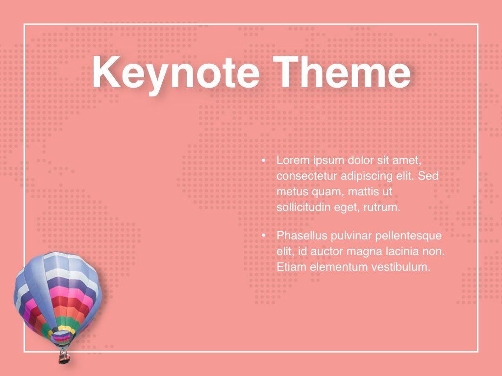 Hot Air Keynote Theme, Slide 33, 05070, Presentation Templates — PoweredTemplate.com