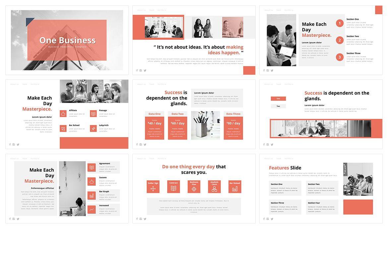 AOne Business PowerPoint Template, Slide 2, 05074, Business Models — PoweredTemplate.com