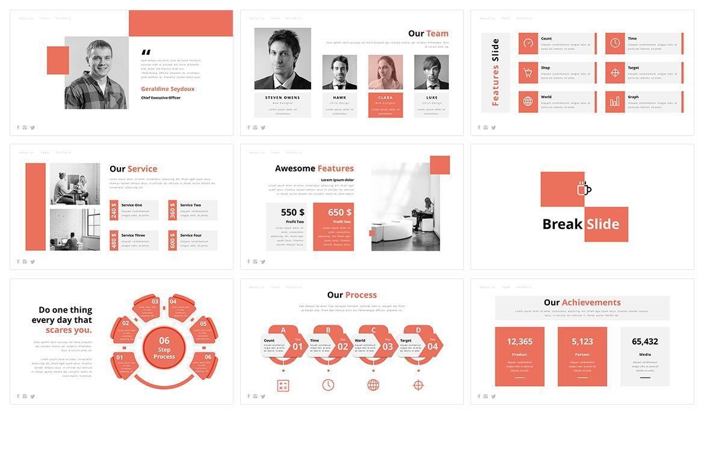 AOne Business PowerPoint Template, Slide 3, 05074, Business Models — PoweredTemplate.com