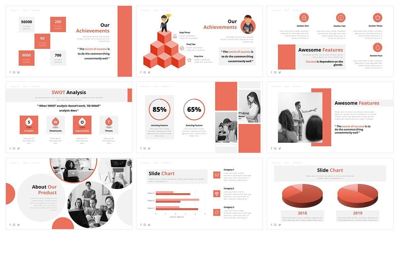 AOne Business PowerPoint Template, Slide 4, 05074, Business Models — PoweredTemplate.com