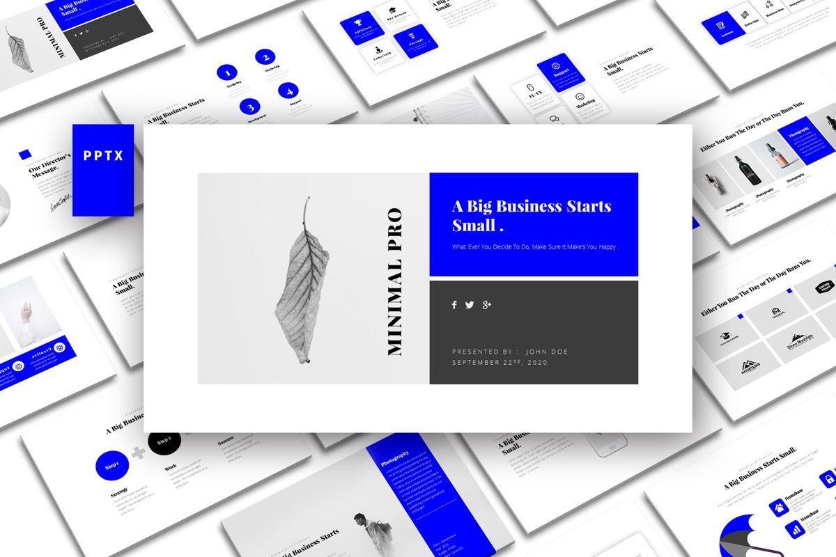 Window Minimal PowerPoint Template, 05075, Business Models — PoweredTemplate.com