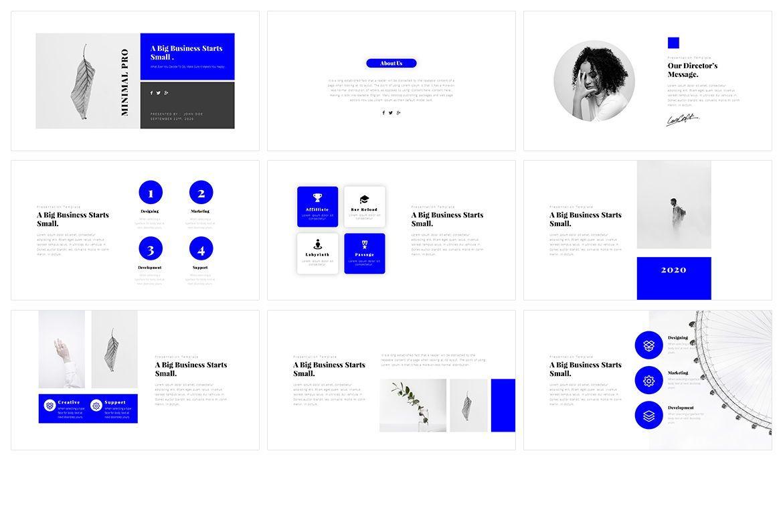 Window Minimal PowerPoint Template, Slide 2, 05075, Business Models — PoweredTemplate.com