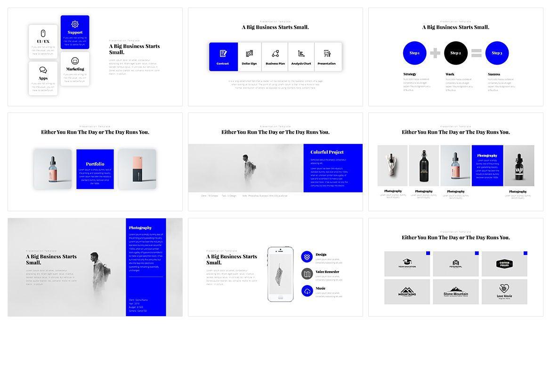 Window Minimal PowerPoint Template, Slide 3, 05075, Business Models — PoweredTemplate.com