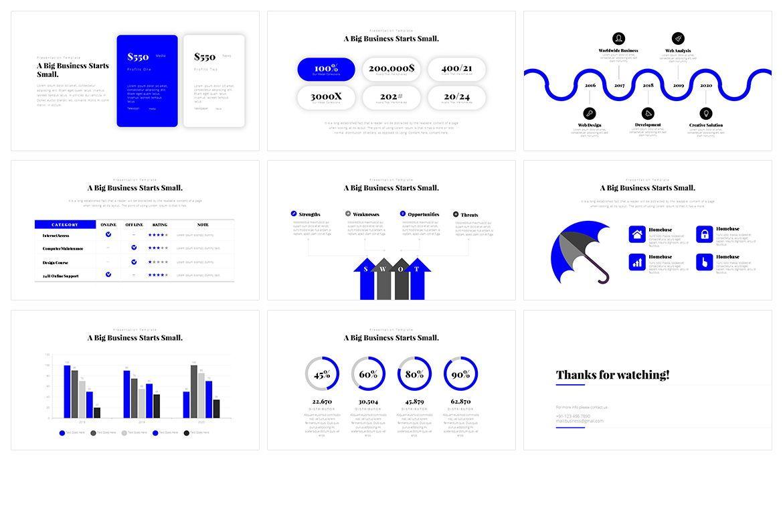 Window Minimal PowerPoint Template, Slide 4, 05075, Business Models — PoweredTemplate.com