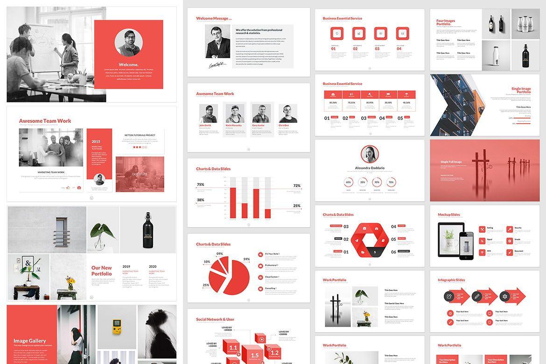 Business PowerPoint Template, Folie 2, 05076, Business Modelle — PoweredTemplate.com