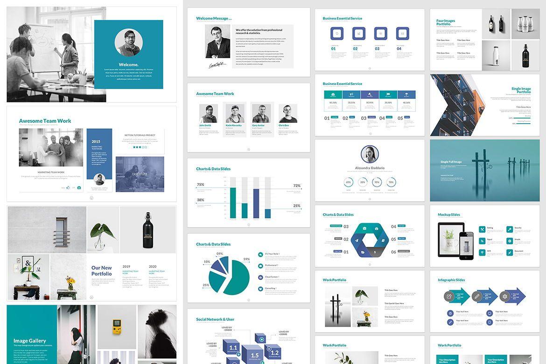 Business PowerPoint Template, Folie 4, 05076, Business Modelle — PoweredTemplate.com