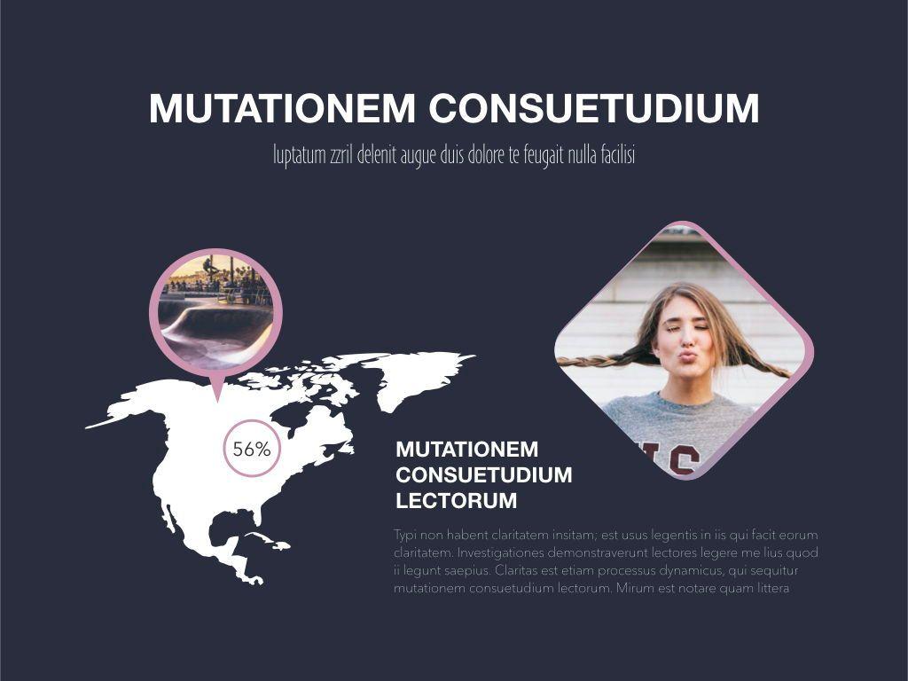 Ambition Keynote Presentation Template, Slide 18, 05078, Presentation Templates — PoweredTemplate.com