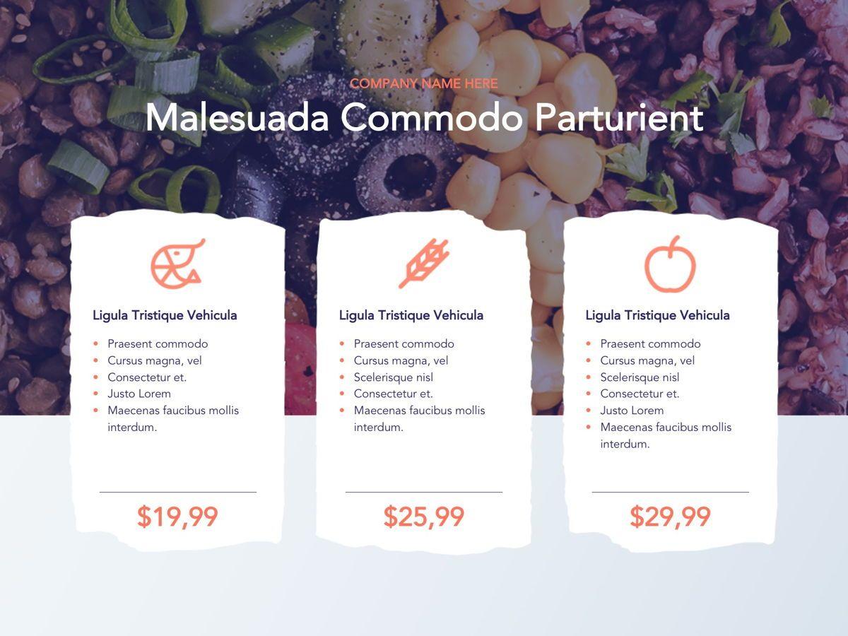 Nutritious Google Slides Template, Slide 5, 05080, Presentation Templates — PoweredTemplate.com