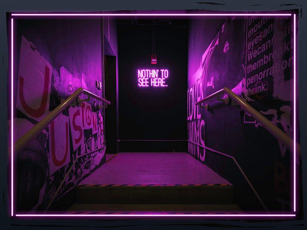 Neon Splash Keynote Theme, Slide 25, 05081, Presentation Templates — PoweredTemplate.com