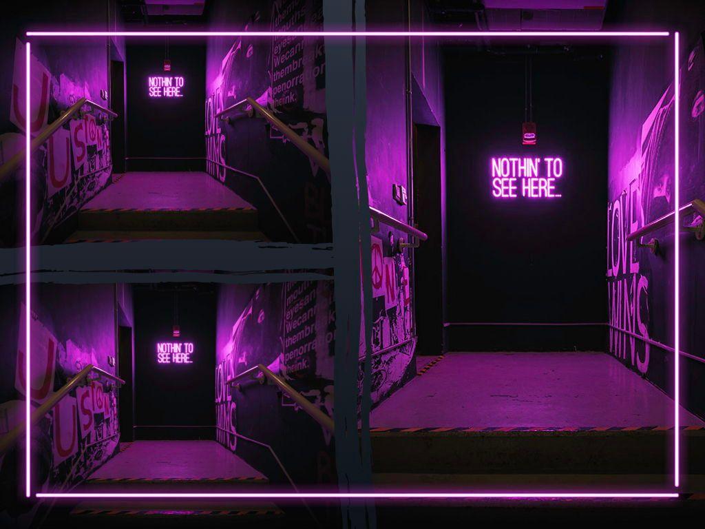Neon Splash Keynote Theme, Slide 27, 05081, Presentation Templates — PoweredTemplate.com