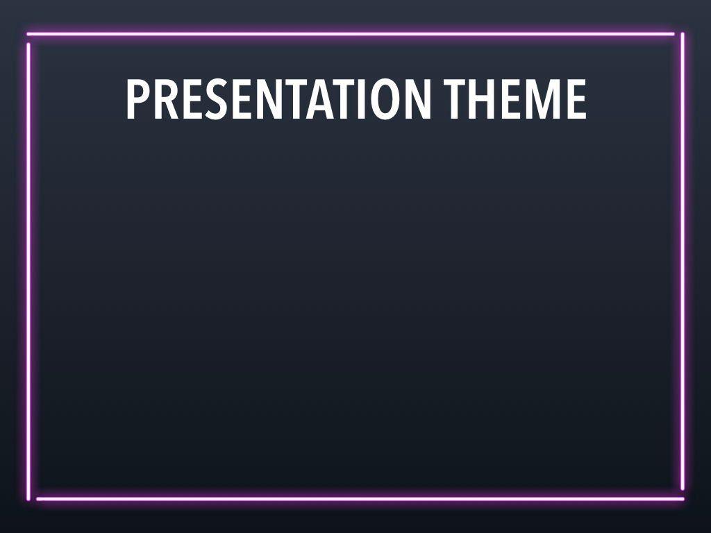 Neon Splash Keynote Theme, Slide 8, 05081, Presentation Templates — PoweredTemplate.com