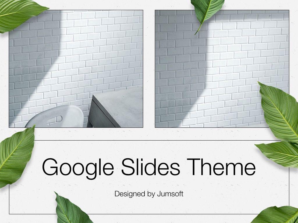 In Green Google Slides Theme, Slide 11, 05082, Presentation Templates — PoweredTemplate.com