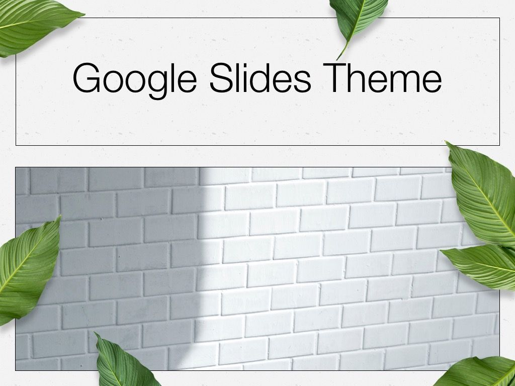 In Green Google Slides Theme, Slide 12, 05082, Presentation Templates — PoweredTemplate.com