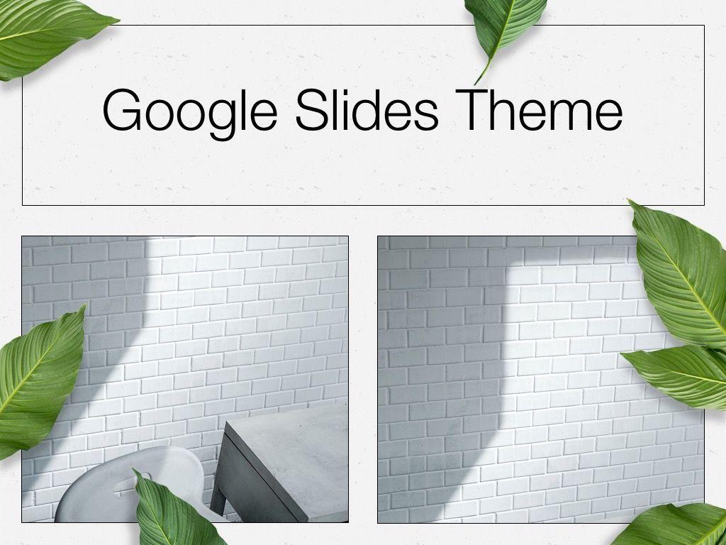 In Green Google Slides Theme, Slide 13, 05082, Presentation Templates — PoweredTemplate.com
