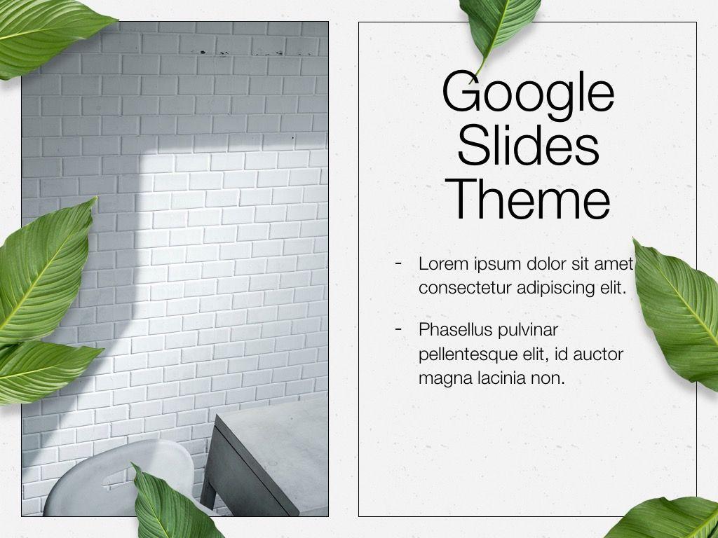 In Green Google Slides Theme, Slide 15, 05082, Presentation Templates — PoweredTemplate.com