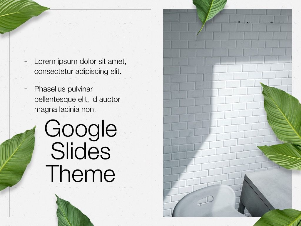 In Green Google Slides Theme, Slide 16, 05082, Presentation Templates — PoweredTemplate.com
