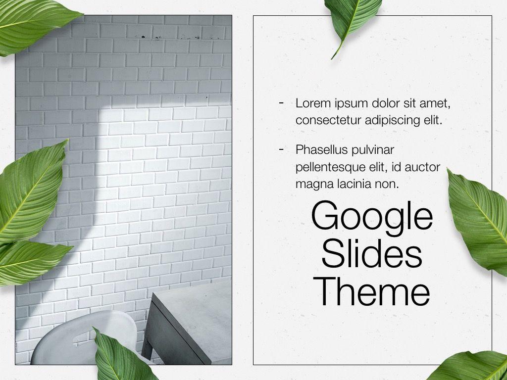 In Green Google Slides Theme, Slide 17, 05082, Presentation Templates — PoweredTemplate.com