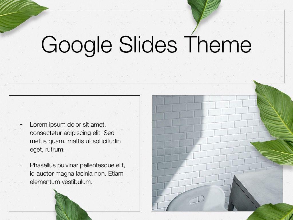 In Green Google Slides Theme, Slide 27, 05082, Presentation Templates — PoweredTemplate.com