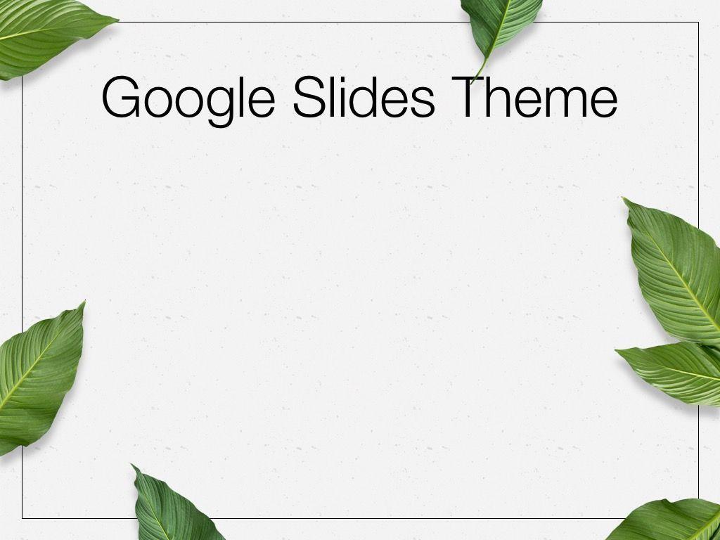 In Green Google Slides Theme, Slide 7, 05082, Presentation Templates — PoweredTemplate.com