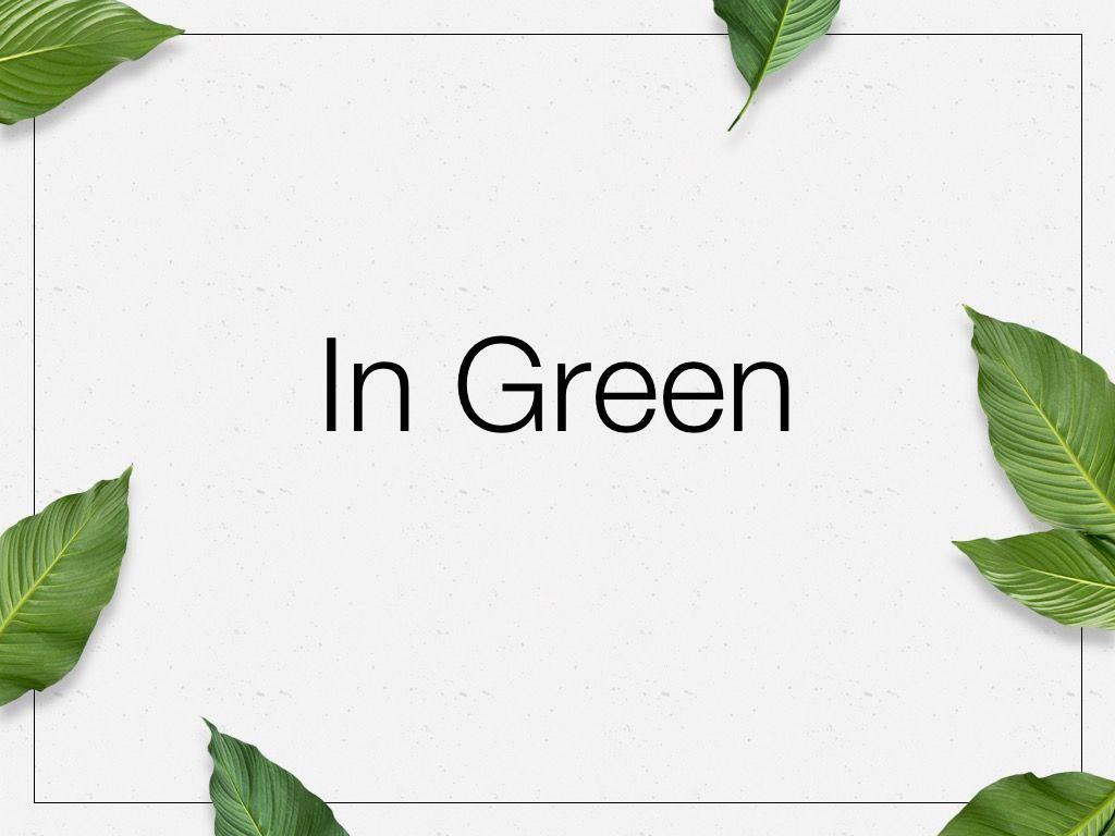 In Green Google Slides Theme, Slide 8, 05082, Presentation Templates — PoweredTemplate.com