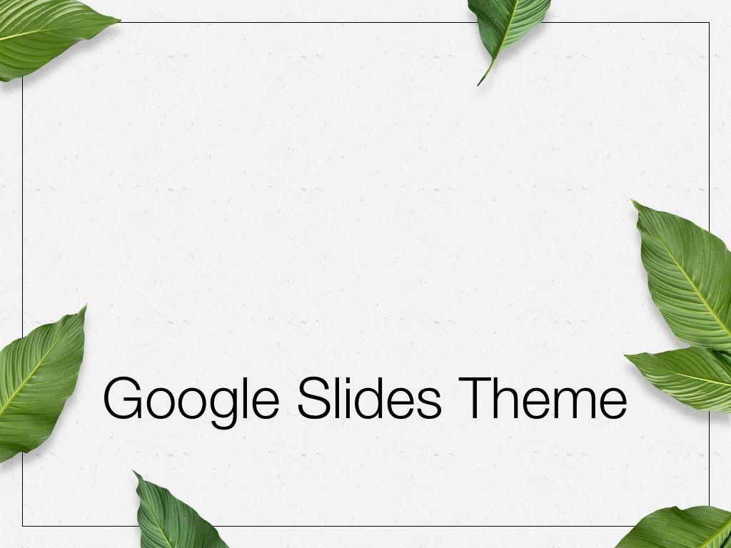 In Green Google Slides Theme, Slide 9, 05082, Presentation Templates — PoweredTemplate.com