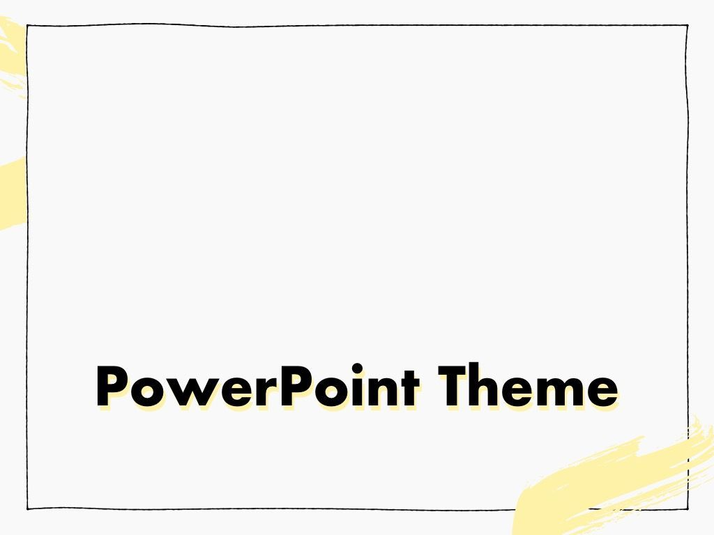 Sketched PowerPoint Theme, Slide 11, 05083, Presentation Templates — PoweredTemplate.com