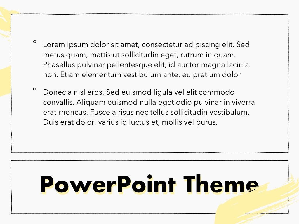 Sketched PowerPoint Theme, Slide 12, 05083, Presentation Templates — PoweredTemplate.com
