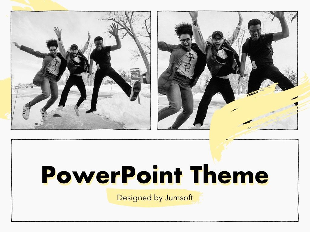 Sketched PowerPoint Theme, Slide 14, 05083, Presentation Templates — PoweredTemplate.com