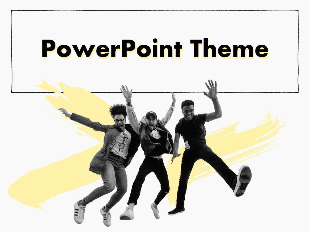 Sketched PowerPoint Theme, Slide 15, 05083, Presentation Templates — PoweredTemplate.com