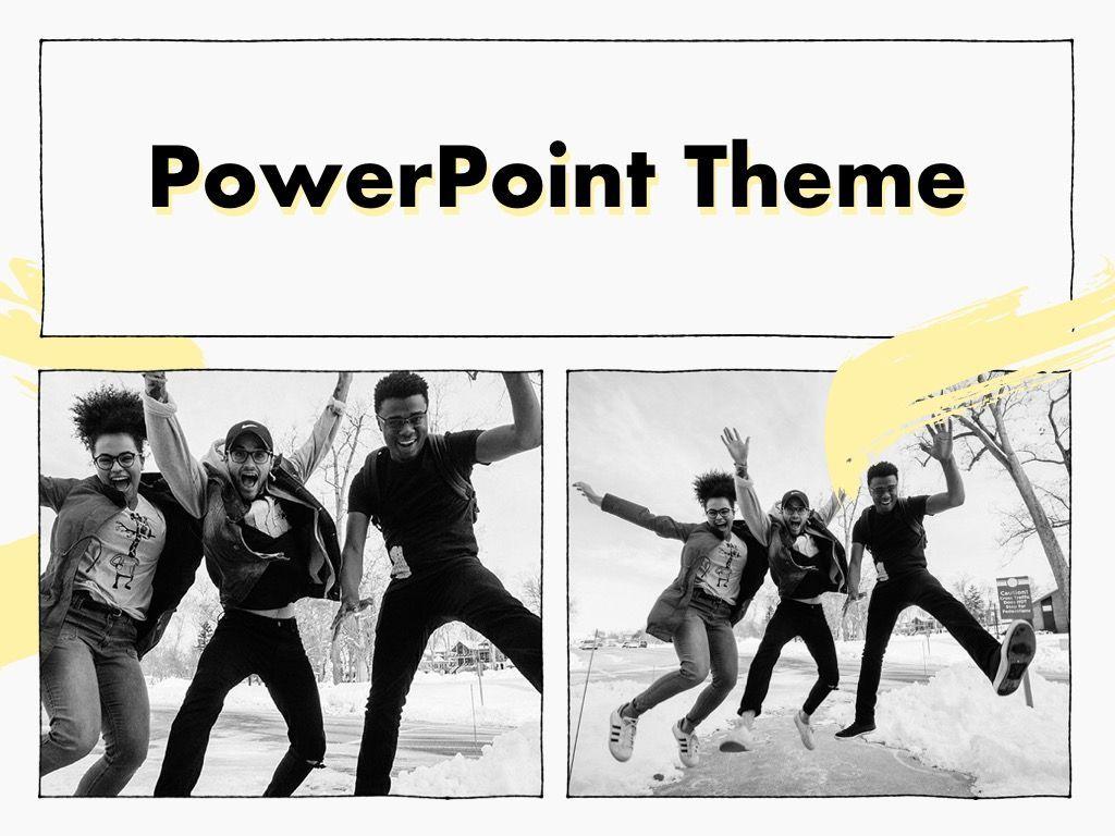 Sketched PowerPoint Theme, Slide 16, 05083, Presentation Templates — PoweredTemplate.com