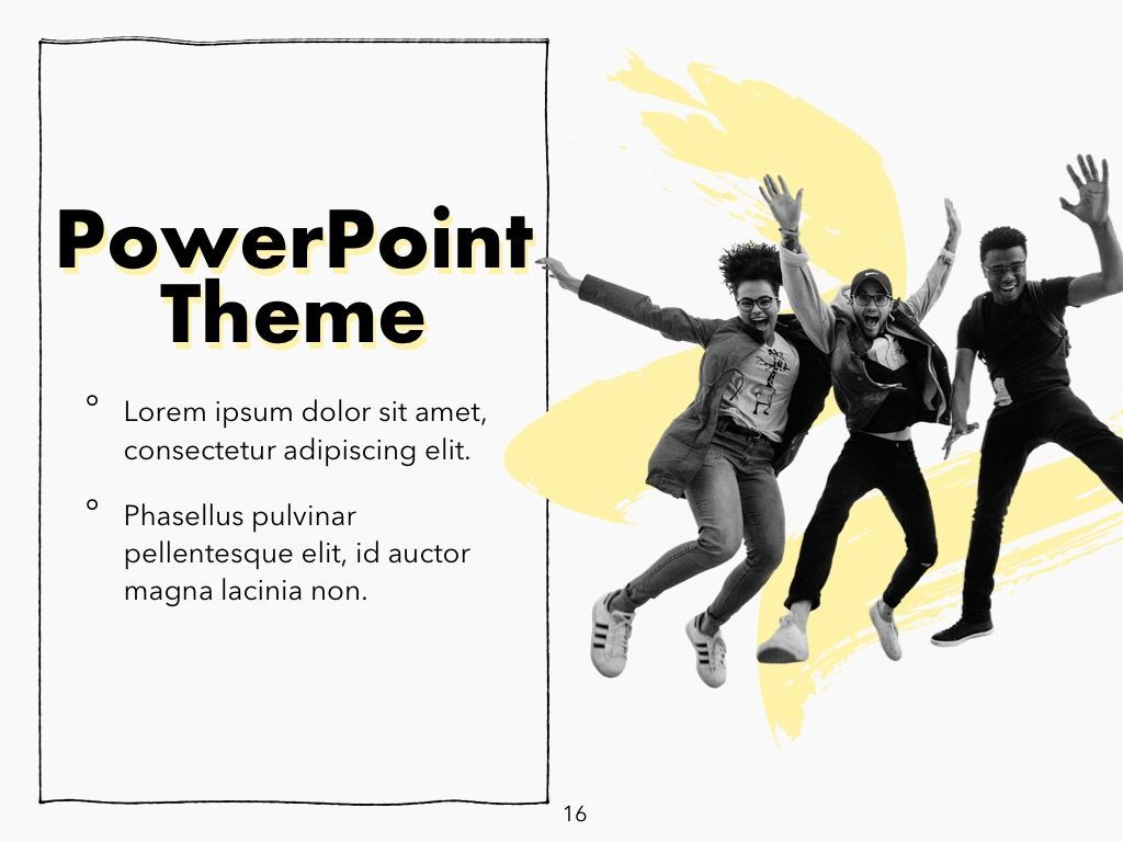 Sketched PowerPoint Theme, Slide 17, 05083, Presentation Templates — PoweredTemplate.com