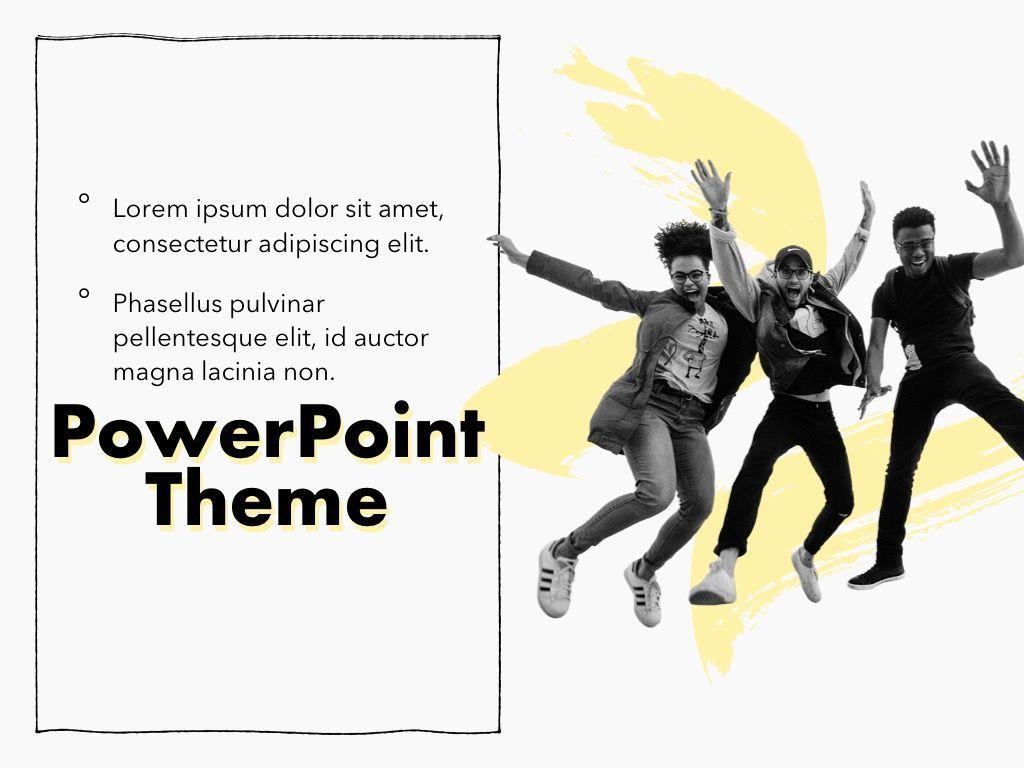 Sketched PowerPoint Theme, Slide 19, 05083, Presentation Templates — PoweredTemplate.com