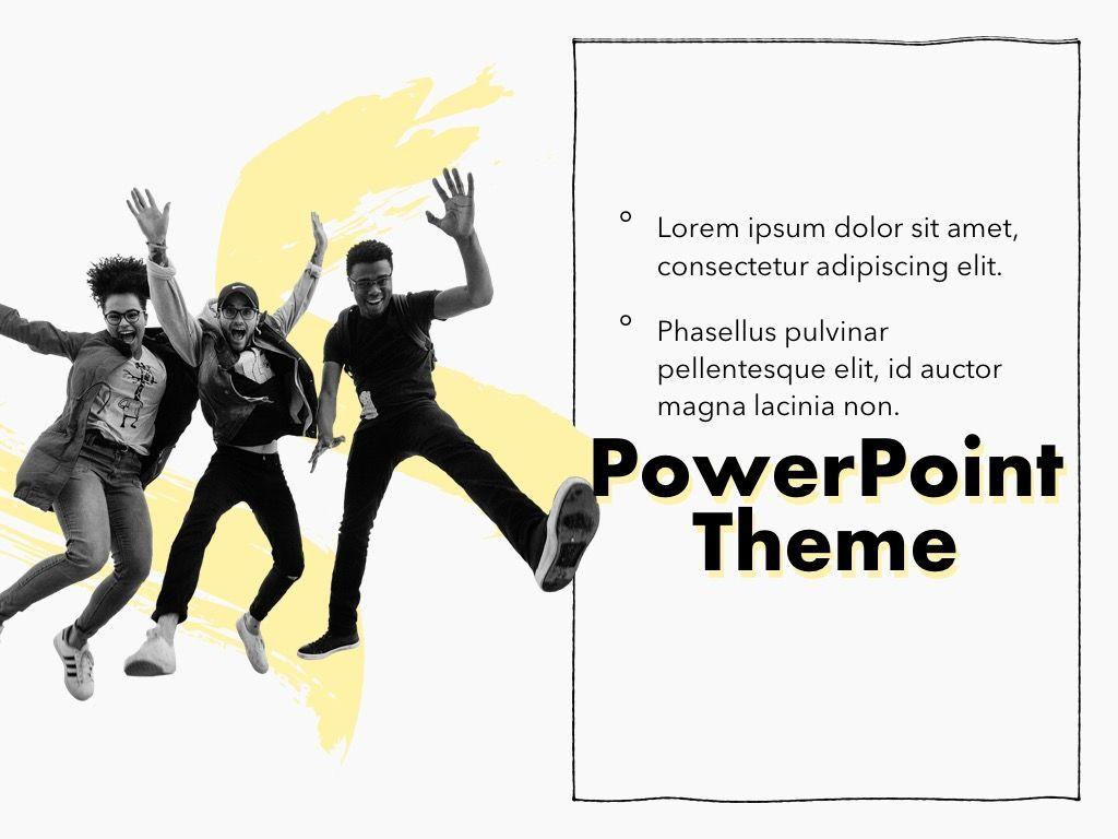 Sketched PowerPoint Theme, Slide 20, 05083, Presentation Templates — PoweredTemplate.com