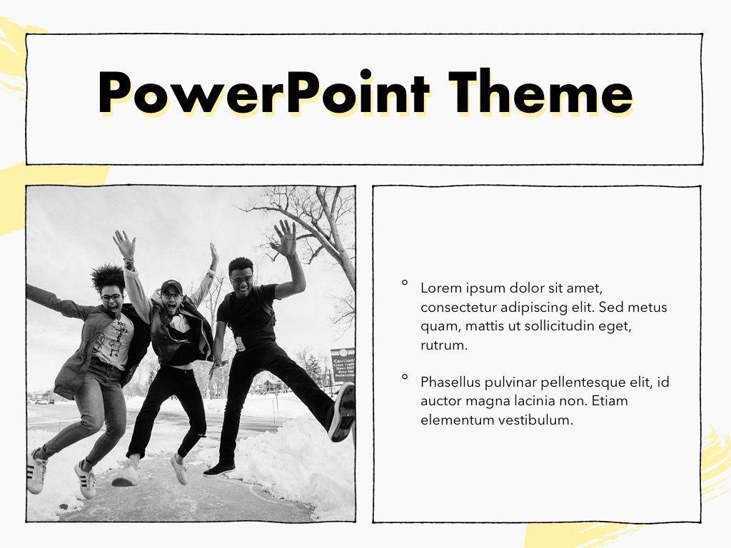 Sketched PowerPoint Theme, Slide 31, 05083, Presentation Templates — PoweredTemplate.com