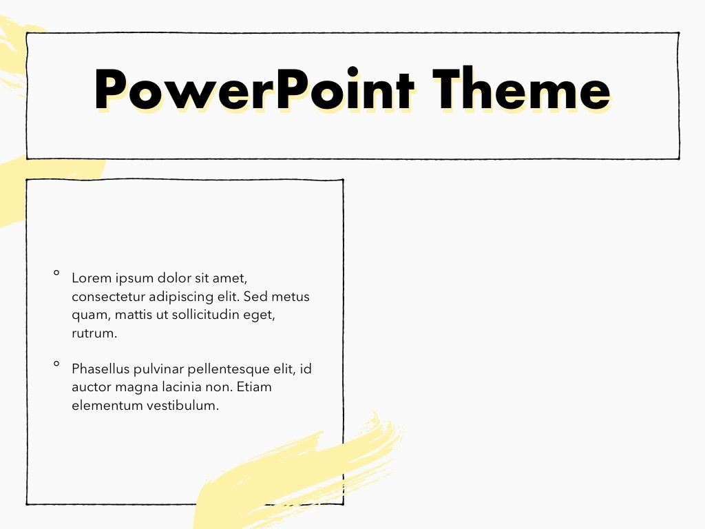 Sketched PowerPoint Theme, Slide 32, 05083, Presentation Templates — PoweredTemplate.com