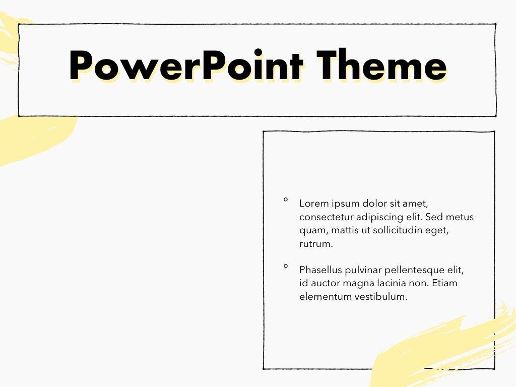 Sketched PowerPoint Theme, Slide 33, 05083, Presentation Templates — PoweredTemplate.com
