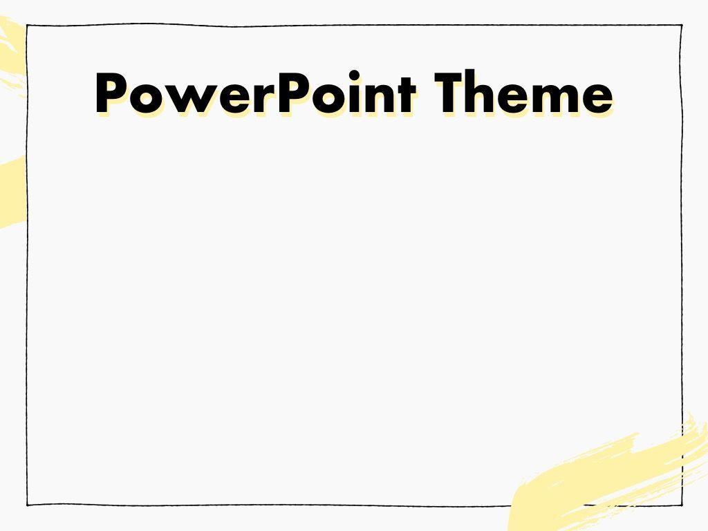 Sketched PowerPoint Theme, Slide 9, 05083, Presentation Templates — PoweredTemplate.com