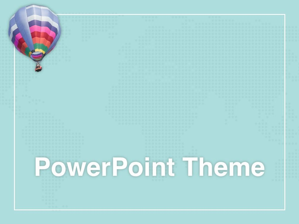 Hot Air PowerPoint Theme, Slide 11, 05084, Presentation Templates — PoweredTemplate.com