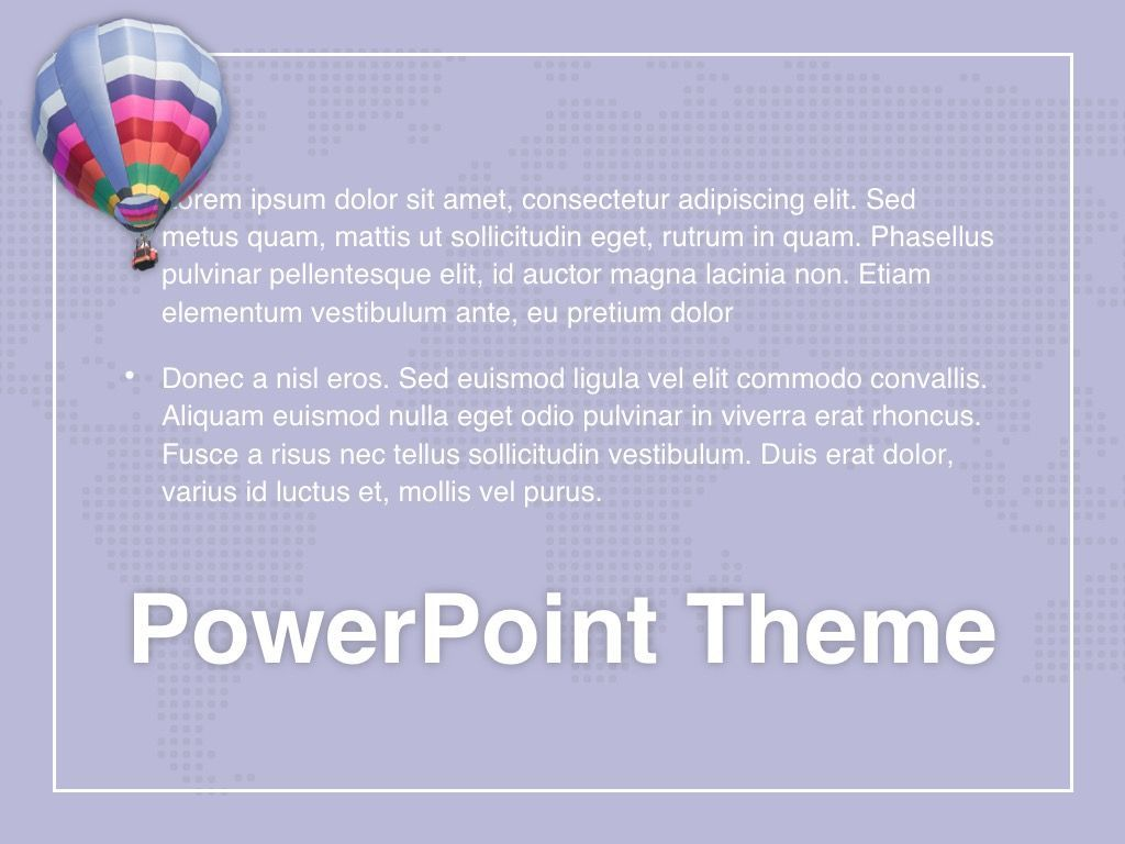 Hot Air PowerPoint Theme, Slide 12, 05084, Presentation Templates — PoweredTemplate.com