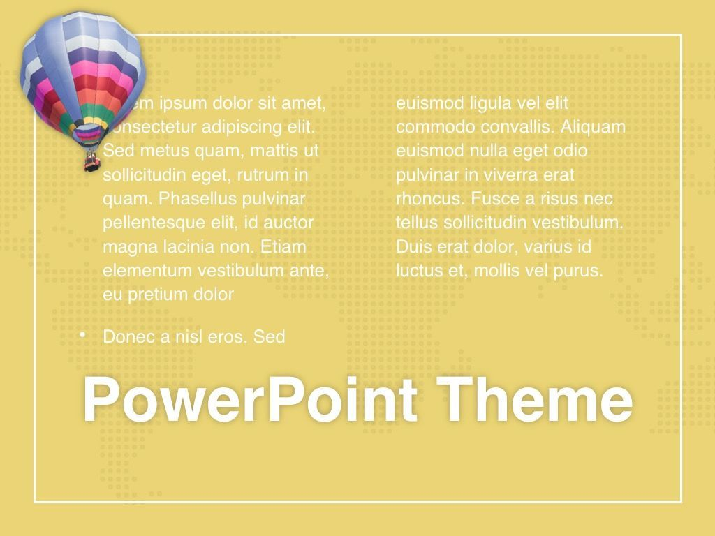 Hot Air PowerPoint Theme, Slide 13, 05084, Presentation Templates — PoweredTemplate.com