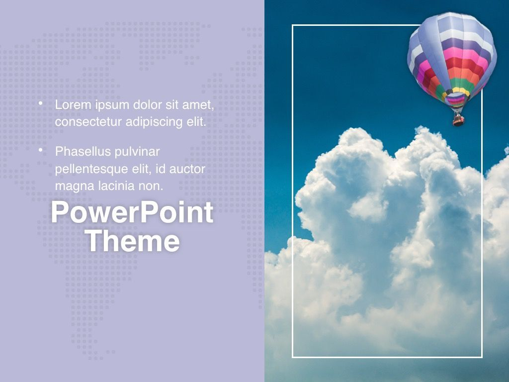 Hot Air PowerPoint Theme, Slide 19, 05084, Presentation Templates — PoweredTemplate.com