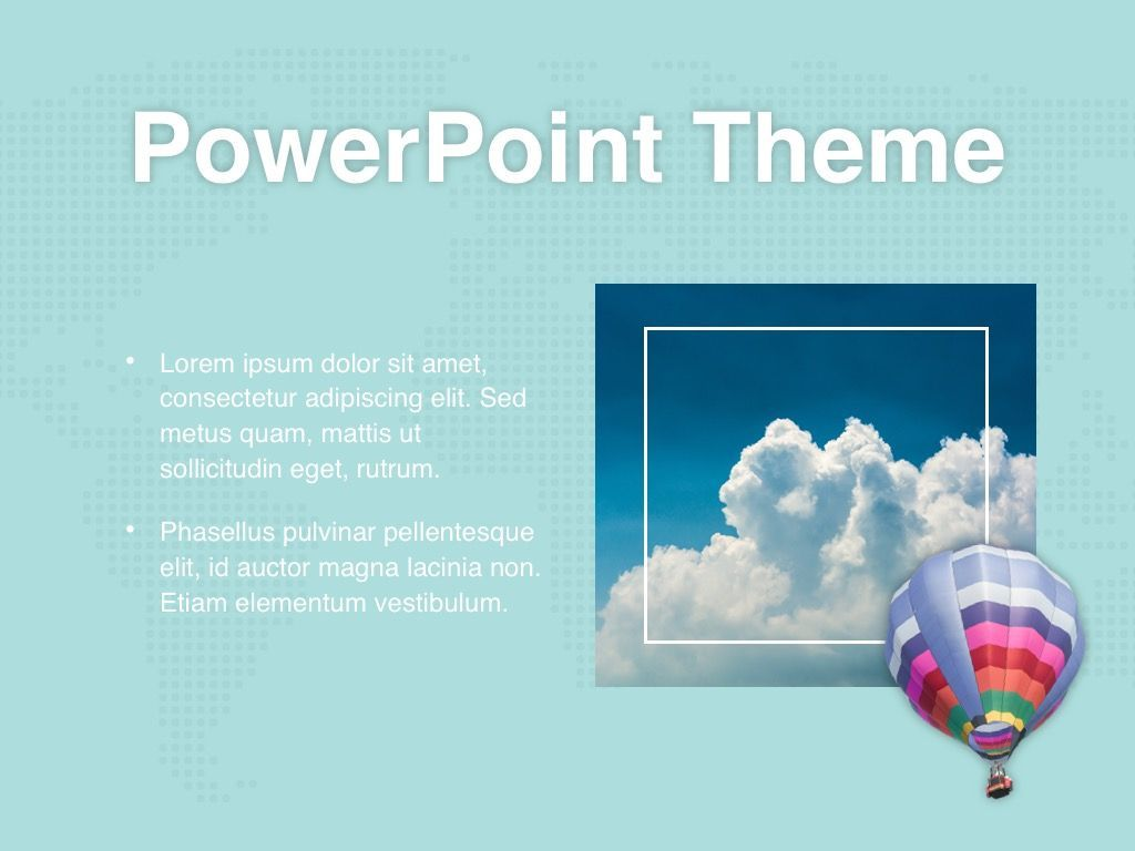 Hot Air PowerPoint Theme, Slide 30, 05084, Presentation Templates — PoweredTemplate.com