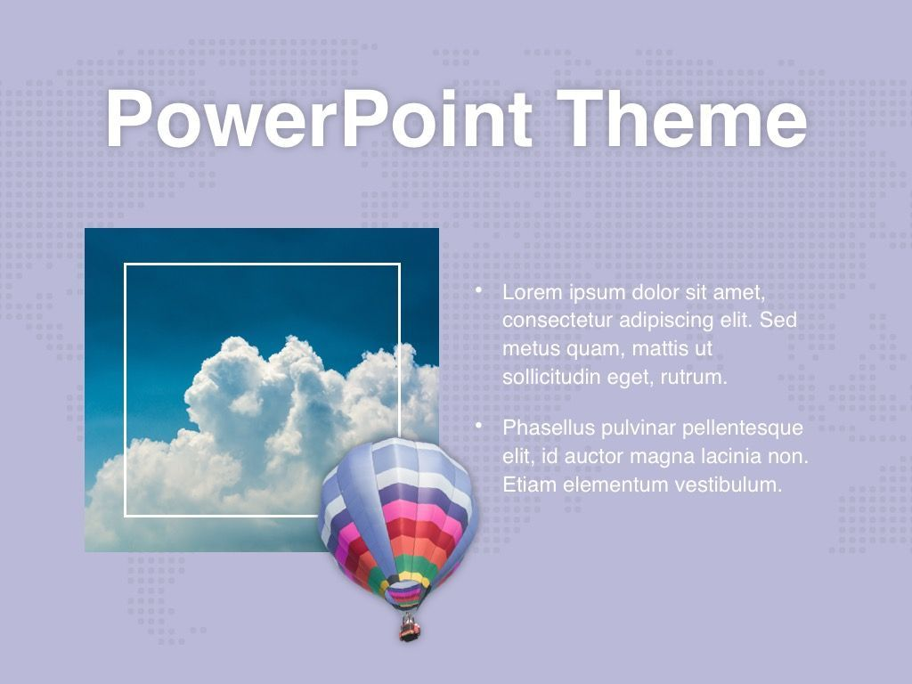 Hot Air PowerPoint Theme, Slide 31, 05084, Presentation Templates — PoweredTemplate.com