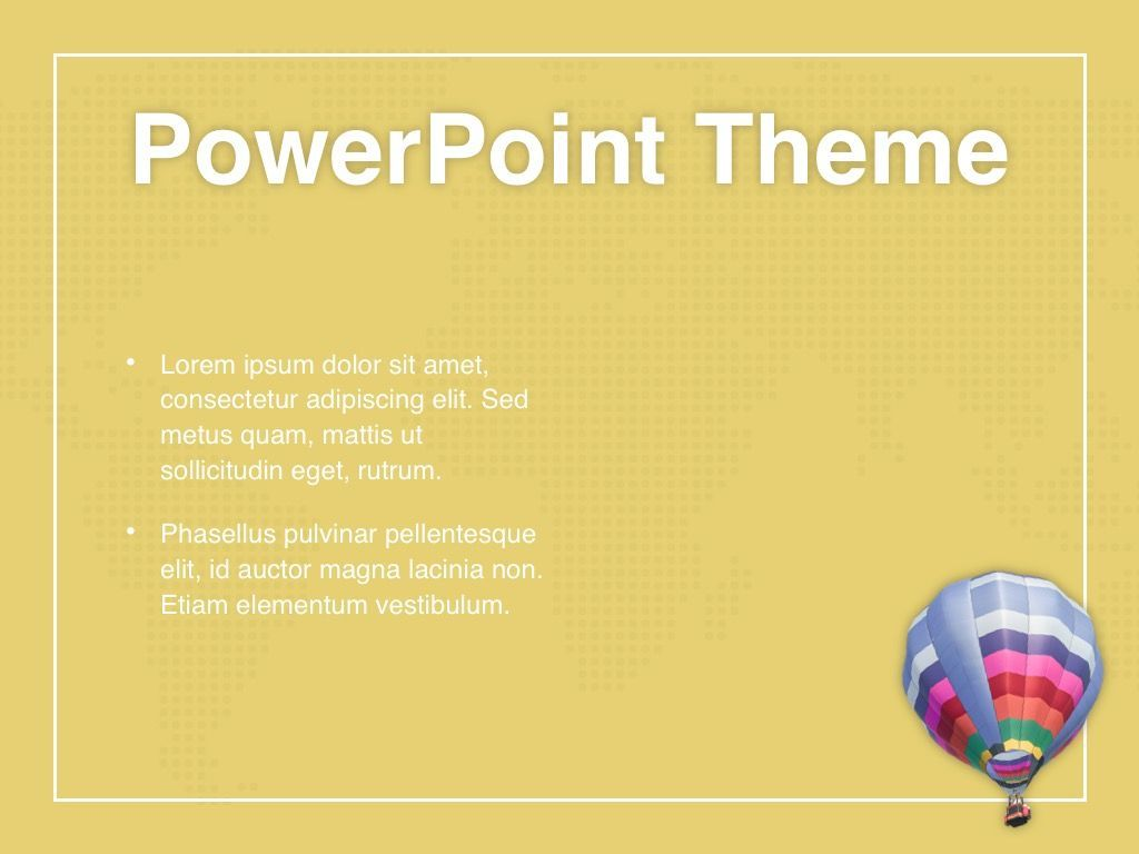 Hot Air PowerPoint Theme, Slide 32, 05084, Presentation Templates — PoweredTemplate.com