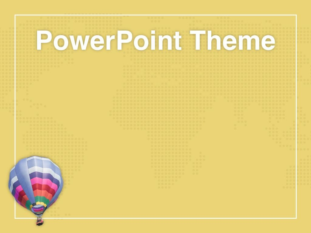 Hot Air PowerPoint Theme, Slide 9, 05084, Presentation Templates — PoweredTemplate.com