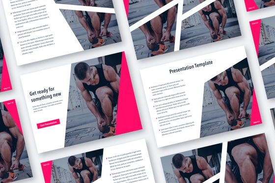 Presentation Templates: Perfect Training PowerPoint Theme #05092